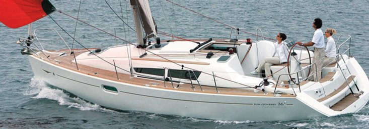 Sun Odyssey 36i - great for charter